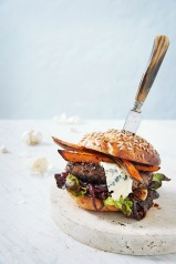 Homestyle-burger